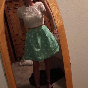 sherri hill two piece homecoming dress